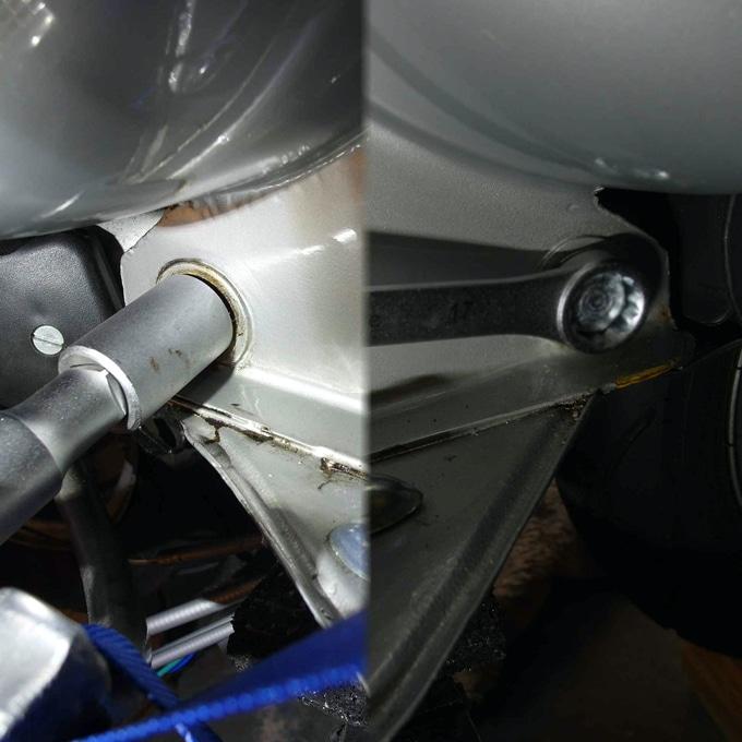 Vespa Motor ausbauen